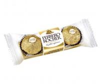 Caixa 3 chocolates Ferrero Rocher