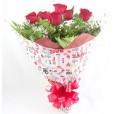 Buquê Tradicional 6 Rosas Vermelhas