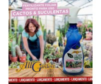 NUTRI SPRAY Cactos e Suculentas. Spray pronto uso.