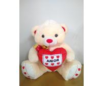 Urso de pelúcia romantico GG